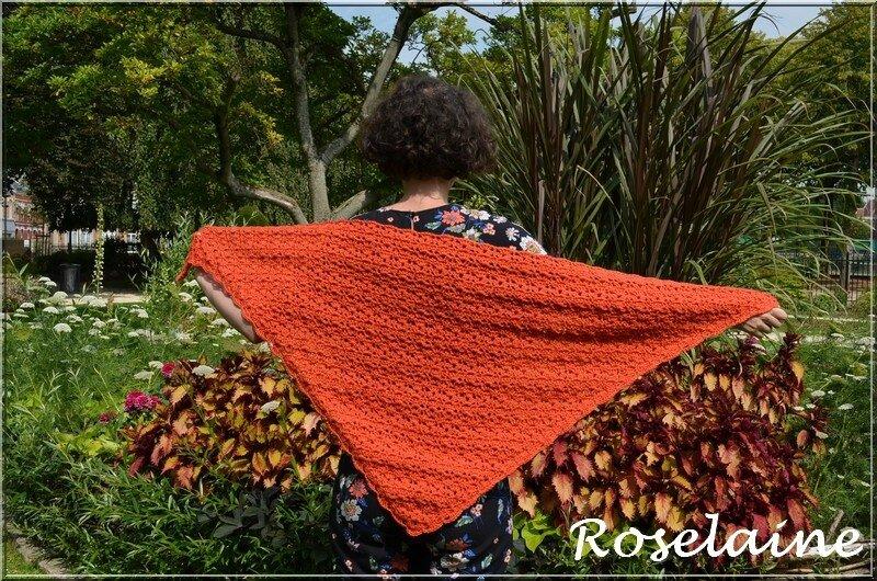 Roselaine Shawl SimplyCrochet 2