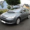 .......CITROEN C4 EXCLUSIVE GRIS FER HDI 138 VENDU 7000KMS