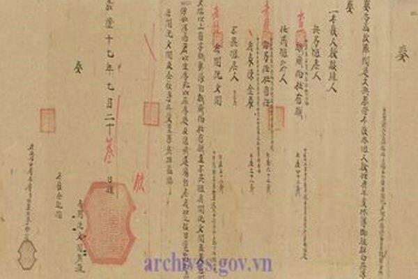 Un châu ban de la dynastie des Nguyên.