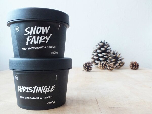 1 Soin Hydratant à rincer Lush Chistingle Snow Fairy