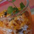 Carottes au gingembre & aux raisins : vous connaissez ?