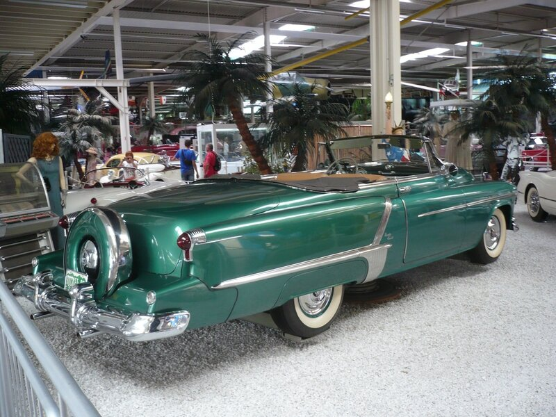 OLDSMOBILE Rocket Ninety Eight 2door convertible 1952 Sinsheim (2)