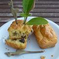 Mini-cakes aux champignons.