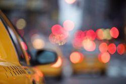 taxi dans la nuit