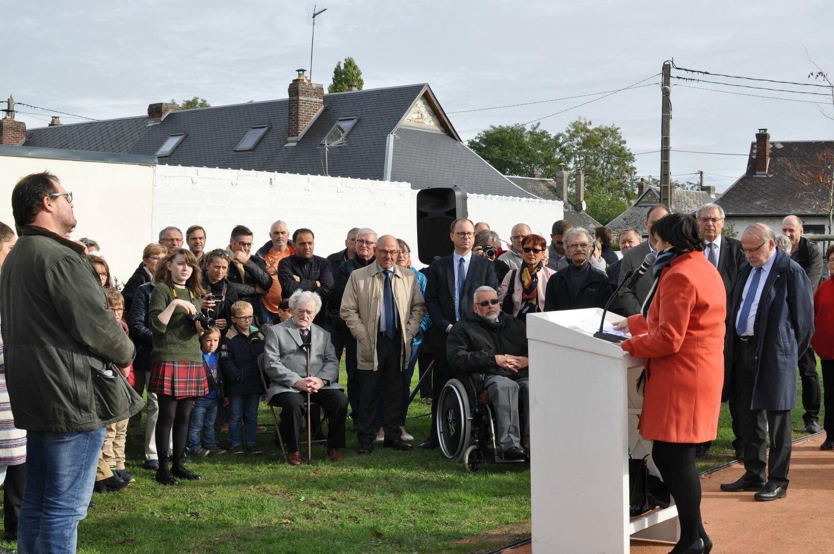 Grand-Quevilly n'oublie plus Louis Jouvin, élu maire de la ville à la Libération. Une page se referme