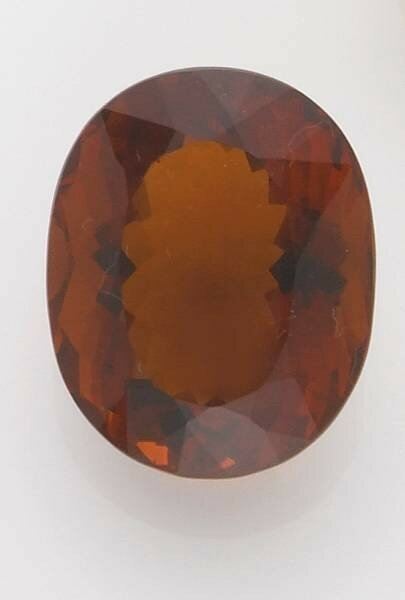 Orangey-Red Citrine, Brazil