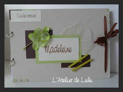 livre d'or nature bambou orchidees