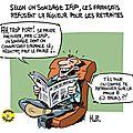Sondage : les français sont contre la rigueur pour les retraites