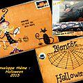 Enveloppe Theme Halloween 2015