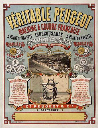 affiche Peugeot