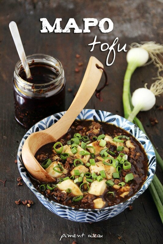 mapo tofu - sichuanese pork and tofu stir fry