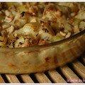 Gratin de chou-fleur aux noix de cajou, sans blé, sans lait
