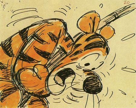 Les Aventures de Winnie l'Ourson - Storyboards 28