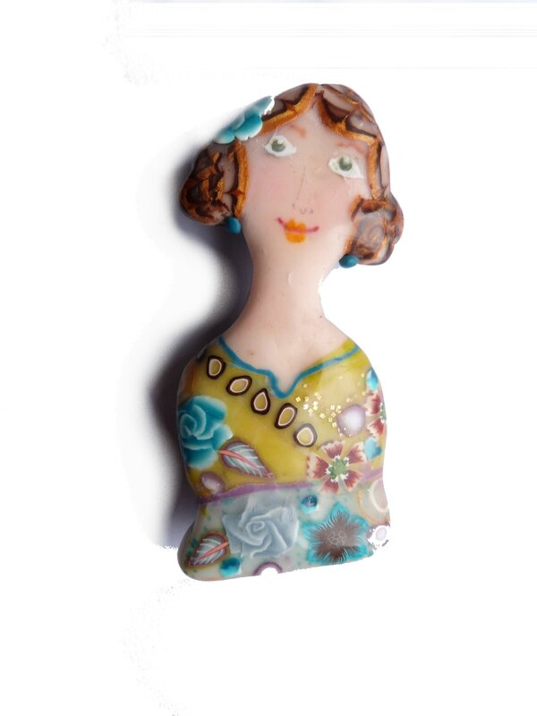 broche lady Mariza
