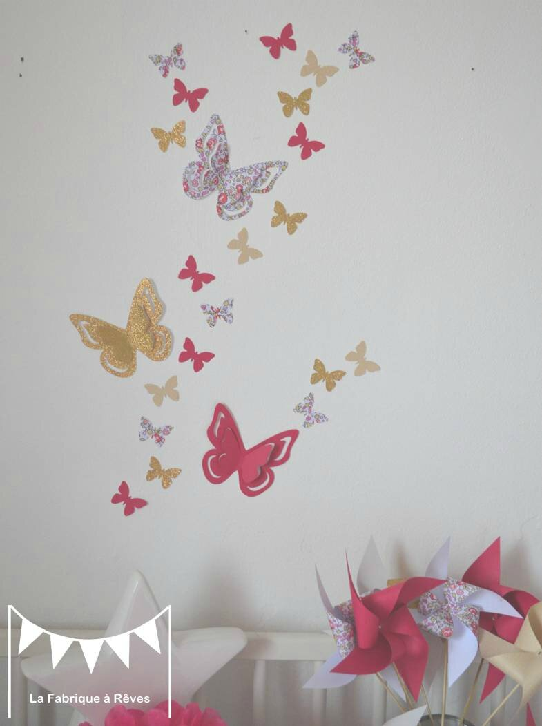 Stickers Deco Chambre Fille : Stickers chambre bebe