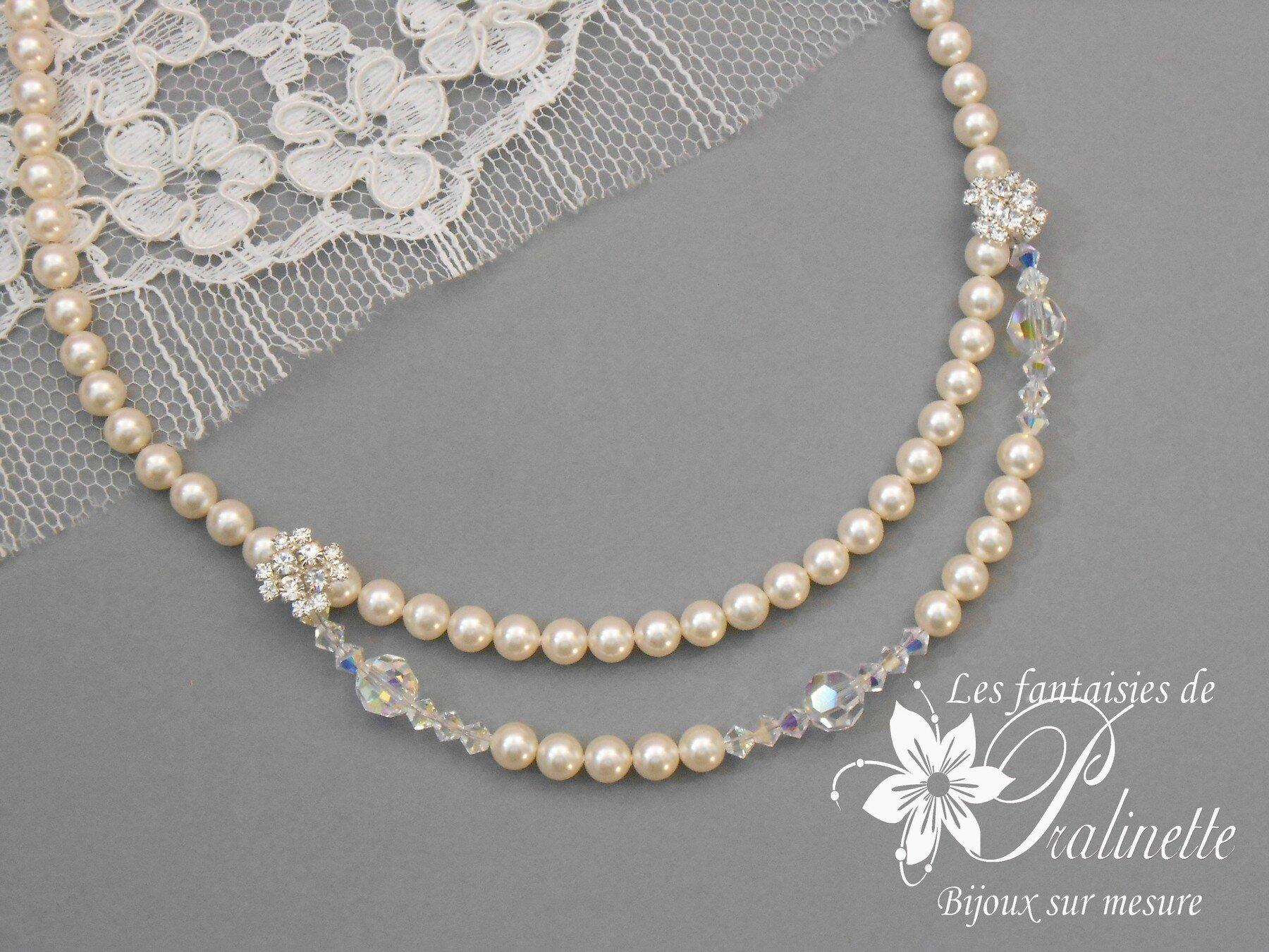 collier de perle mariage