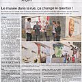 Ouest france 1 oct 2014 Mazeries