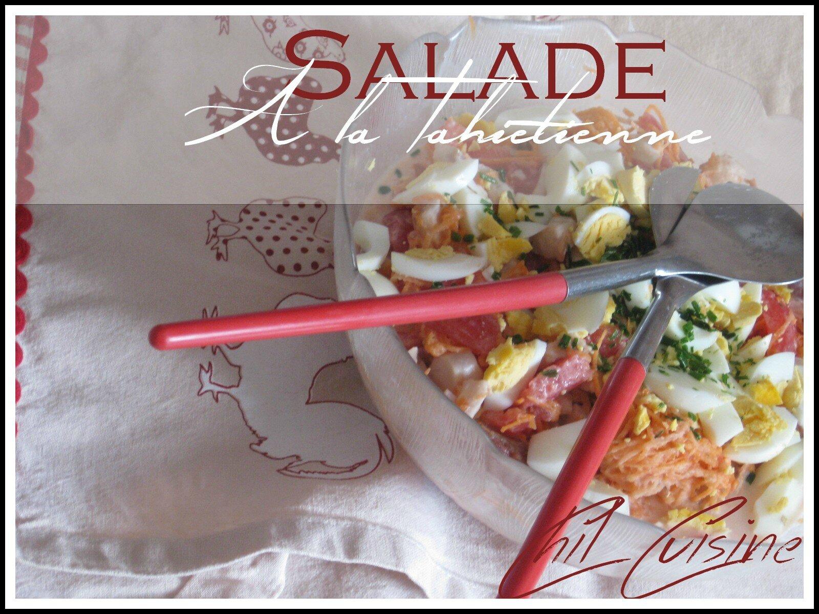 Salade de poisson à la Tahitienne