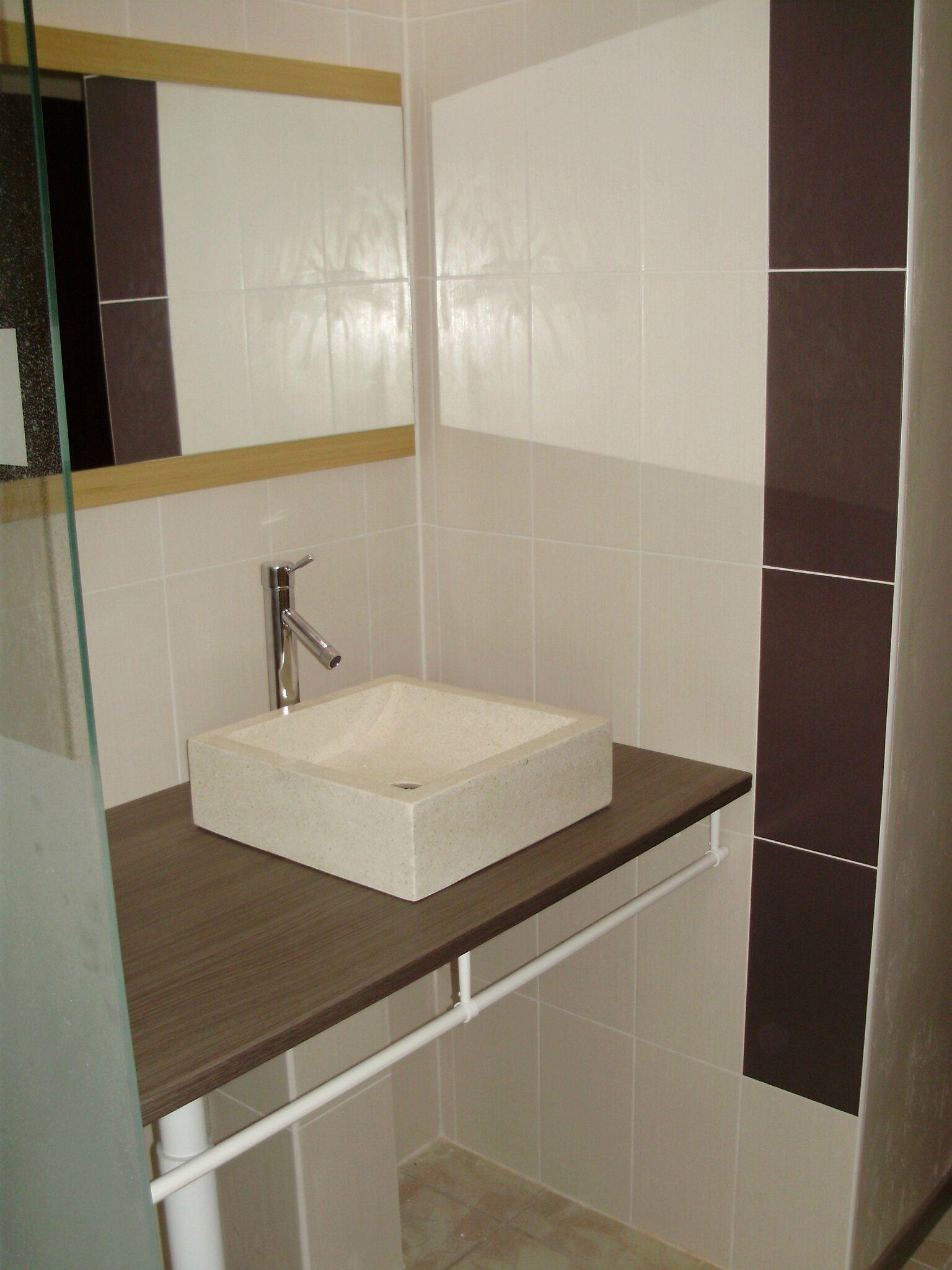 R fection salle de bains 50 chant 39 hall for Refection salle de bain