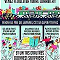 Venez feuilleter votre quartier ! 8 auteurs du 13e à la librairie maruani - vendredi 30 juin (17 heures) - le pari des libraires