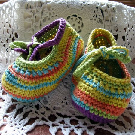 crochet morgane chaussons (1)
