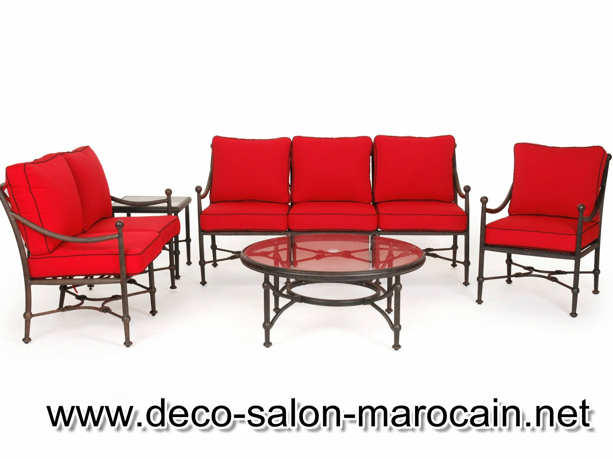 stunning salon de jardin fer forge style marocain contemporary awesome interior home. Black Bedroom Furniture Sets. Home Design Ideas