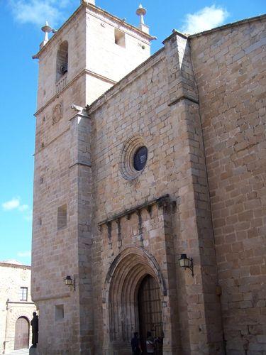 Caceres-iglesia Sta Maria