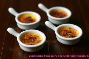 Crème brulée roquefort-noix 2