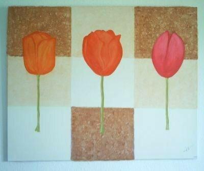 100 x 80 - Tulipes