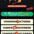 Tierce de spectacles en octobre !