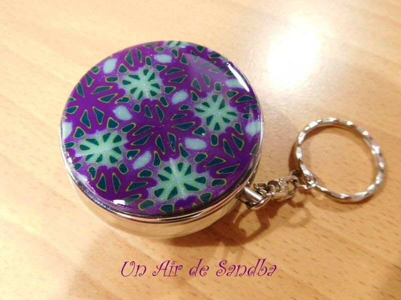 Cendrier de poche Violet