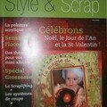 Style & scrap ...Magazine franco canadien