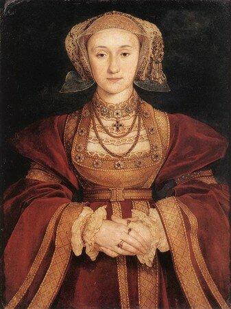 1539 Holbein le jeune Anne de Clèves