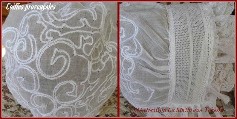 coiffe à tauto mousseline de coton