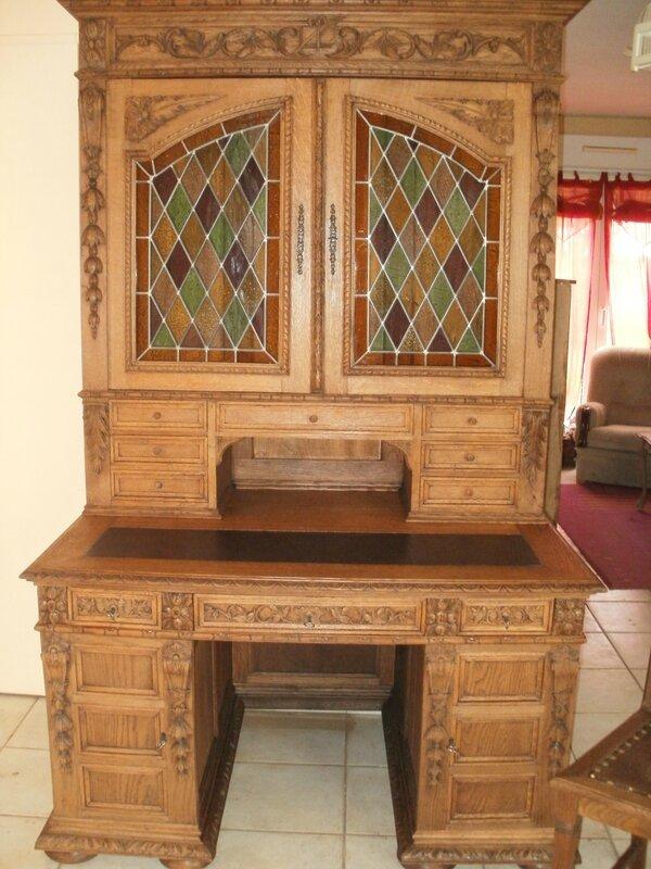 Bureau relook relooking meuble bureau secr taire scriban for Meuble bureau 69