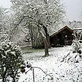 - aujourd'hui neige et froid -