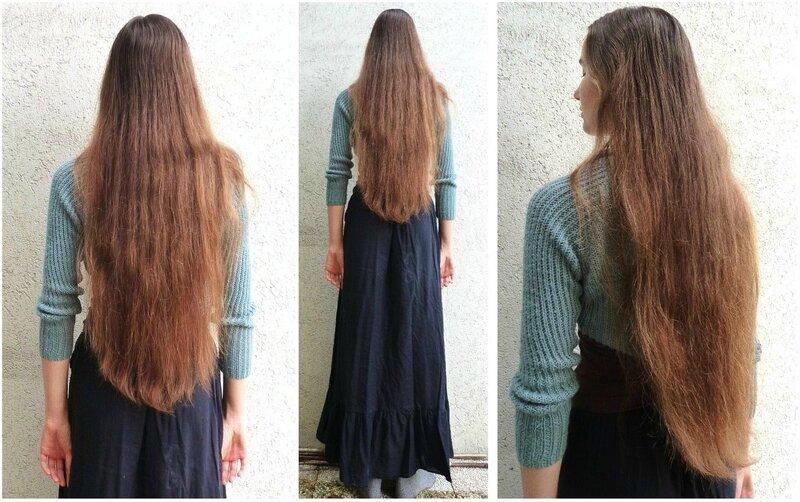Couper les cheveux en v