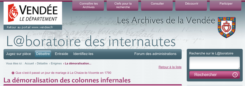 Archives de la Vendee