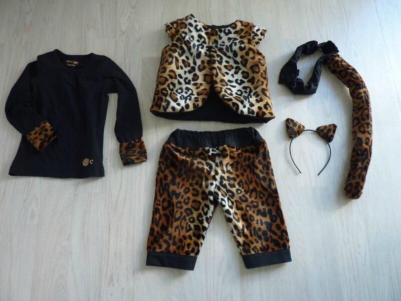 Déguisement léopard