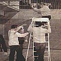 2006 : Sead Muric (Nivelles) explose notre pauvre anneau...à l'échauffement