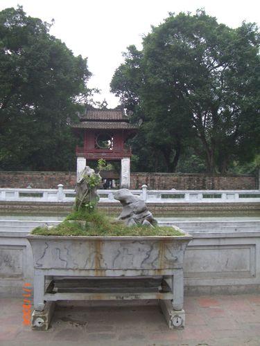 Temple de la littérature, Hanoi.
