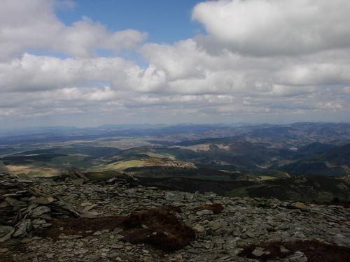 2008 04 24 Paysage depuis le sommet du Mont Mézenc (4)