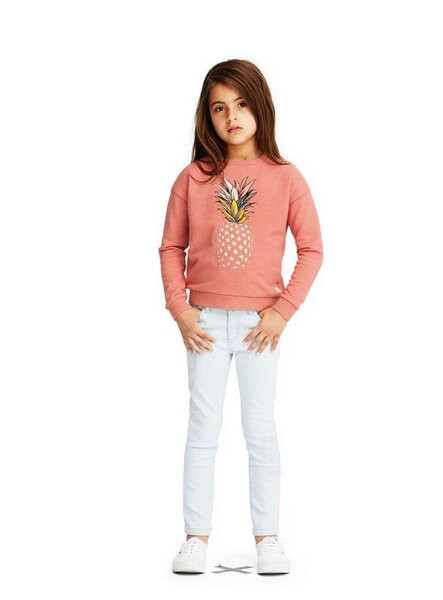 girl sweater pineapple molo