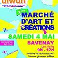 Marché d'art et de créateurs - savenay