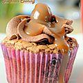 Cupcake tout caramel