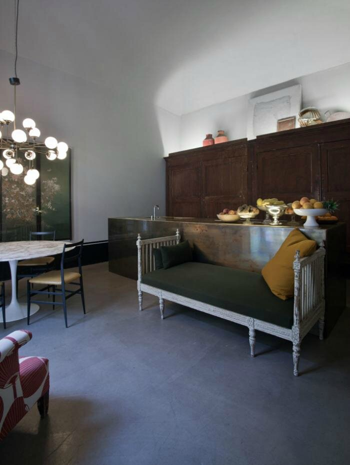 Milan apartment of Britt Moran and Emiliano Salci of ...