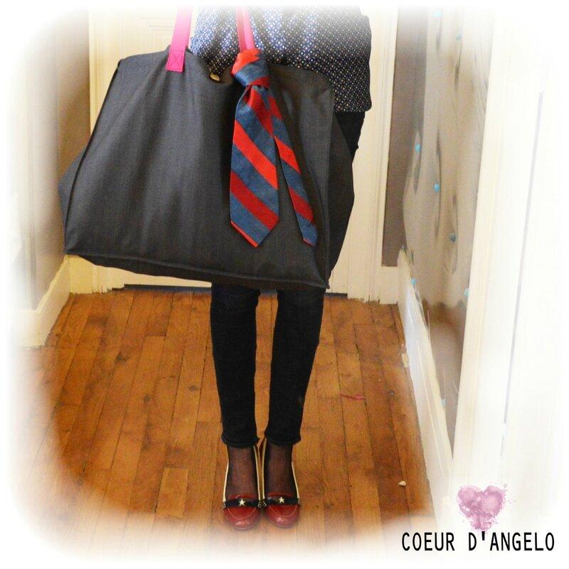sac cabas Giorgio porté