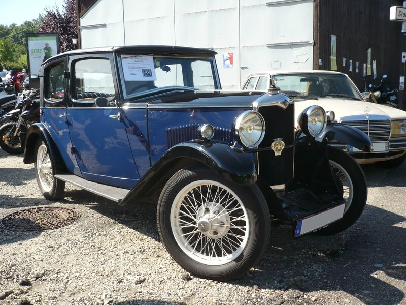RILEY Nine Monaco 1931 Lipsheim (1)
