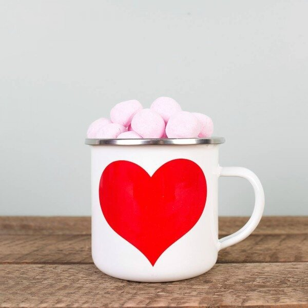 mug-coeur-rouge-emaillle