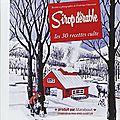 Qui a gagné le livre : « sirop d'érable : 30 recettes culte» ?